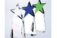 Customized Crystal Star Awards / Create custom engraved star awards to recognize talent on your team.      / by Personalized Engraved Gifts