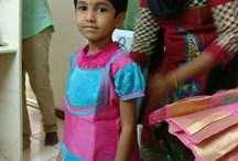 Shivangi Pattu Pavadai / Lehenga choli