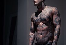 Tattooed Man / Tattoo ideas for Men