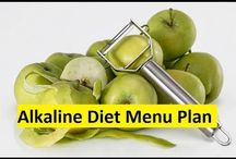 Alkaline Diet Menu Plan / Alkaline Diet Foods Menu Plan