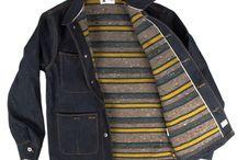 Denim & workwear / jean, denim, workwear, bucheron, cheminots, etc...