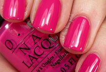 nail polished