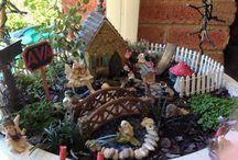 Creating your Fairy Garden.