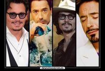 Johnny Depp & Robert Downey