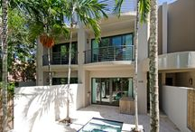 608 NE 14th Ave Fort Lauderdale, FL 33304 / GORGEOUS+SPACIOUS CONTEMPORARY TRILEVEL TOWNHOME IN VICTORIA PARK WITH OVER 3400 SQ FT PLUS 2 CAR GARAGE+EXTRA PARKING.THIS HUGE 3/3.5 ALSO HAS AN OVERSIZED LOFT AREA AND ROOF TOP TERRACE WITH MOTORIZED AWNING.SUPER HIGH CEILINGS,BAMBOO FLOORS,GOURMET KITCHEN WITH BLACK GRANITE COUNTERTOPS,INTERIOR ELEVATOR,SECURITY SYSTEM,LARGE BUILT OUT CLOSETS,WINDOW TREATMENTS. PATIO AREA FEATURES MARBLE PAVERS+SMALL POOL WITH WATER FEATURE.LARGE ROOF TOP TERRACE+ AWNING,ROOM FOR SUMMER KITCHEN.