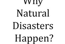 "Why Natural Disasters Happen? / We are facing major Disasters such as hurricanes like Harvey, Irma and others that continues to destroy lives and property. The age old question is asked, ""How can a loving God allow this to happen"". I believe the answer is in the Bible and the following is my opinion for answering the question. Choices are at the heart of the answer. God gave angels, animals, and the human race two choices: You are with God or against Him."