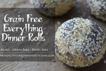 Breads, wraps, savoury biscuits and crackers - gluten, soy, dairy and mostly grain free (paleo friendly) / Autoimmune and Paleo inspired breads, wraps, crackers and savoury buns