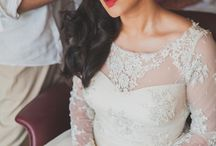 Christian Wedding Gowns / A Gallery of Indian Christian Wedding Gowns for the bride!