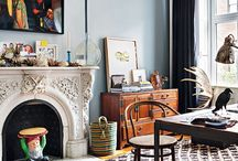 OldMeetsNew / Home is the projection of the soul // keywords: harmony - mix of old & new interior objects // colors: deep blue & green - pure colors - gold - soft & neutrals