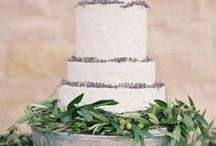 Simple Wedding Cake Ideas- Let Them Eat Cake!!! / Get inspiration for beautiful and delicious cakes and desserts!