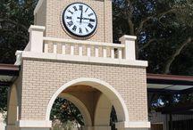 """48"""" diameter Lumichron Clock"""
