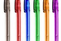Günstige Kugelschreiber Werbekugelschreiber Werbeartikel mit Aufdruck / Ein Board für günstige Kugelschreiber mit Logo / Werbung / Aufdruck / Veredelung / Gravur / Lasegravur /