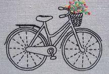 bicicleta com flores