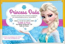 frozen convite digital