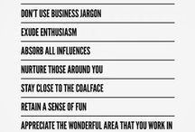 Business wisdom & tips / by Caroline Smalley