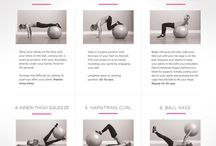 Working Out - Stability Ball  / by Jennifer Ridenhour