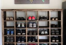 shoe storage space