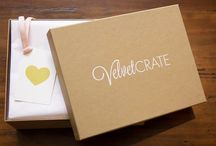 VelvetCrate / A VelvetCrate is the perfect gift for her, filled with chic, fun, and luxurious gifts. We make it easy for you to make an impression.  http://www.velvetcrate.com