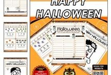 Halloween Educational Products / Education Products