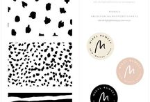 DESIGN | Brand Board Inspiration / Visual inspiration for designing brand identity