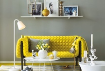 yellow and gray / by Elissa- One Stone Events