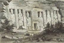 Adrien Dauzats et l'Égypte / Adrien Dauzats (1804-1868) fut l'un des premiers artistes français à s'être rendus en Égypte, dont il rapporta de nombreux dessins qui nourrirent son œuvre peint jusqu'à la fin de sa vie. Voici quelques-unes des plus remarquables gravures réalisées à partir des dessins que Dauzats exécuta en Égypte en 1830 alors qu'il accompagnait le baron Taylor en mission.