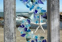 Beach Glass Panels