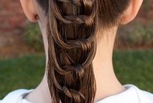 penteados de crianças