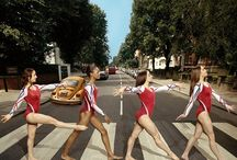 Gymnastics - Fierce Five Photos / by All Things Sports & Sports Stars