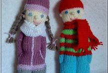 Puppen stricken