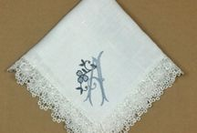 Irish Wedding Ideas - Handkerchiefs Personalized Embroidered, and more / Irish Wedding Ideas, Handkerchiefs Hankerchiefs Hankies Hanky Personalized Embroidered for your Wedding Gift Day, Cakes, Invitations, and more - Everything Irish Wedding, Claddaugh, Claddagh, Celtic Knot and more bridal / by Li'l Inspirations - Personalized Wedding Handkerchiefs, Blankets and One of Kind Baptism Gifts Custom Embroidered
