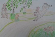 мои рисунки / учусь рисовать