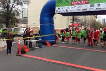 Santa Run Silicon Valley / 2700 5k runners. 12-16-2012