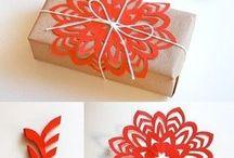 paper, flowers