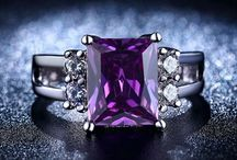 Perfect Purple Jewellery / Representing wisdom, majesty, opulence, dignity and mystery; we pay tribute to the Perfection of Purple.  From stunning amethyst stones to the whimsical Mystic Topaz, there is nothing like a splash of purple to add a sophisticated allure to your look.