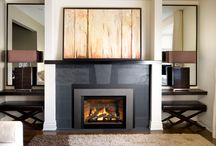 Valor Fireplaces - Legend G3.5 Insert Series / Clean trims and a large viewing area highlight warm, glowing flames within. A contemporary update for existing spaces, the Legend G3.5 is our latest addition to the highly successful Legend Insert family. / by Valor Fireplaces