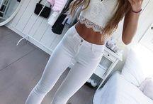 outfits verano tarde