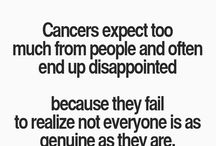 Clingy Cancer / Just an insight to me...