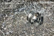 "Titanium Wedding Sets / Time to ""Ti the knot"" ? Yes, we have full titanium rings wedding sets ! Take a peek...."