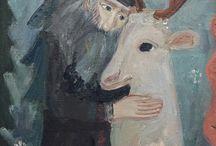Отец Серафим Роуз и белый олень