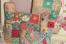 collect me: patchwork dogs (& cats)