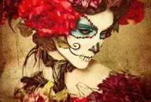 Skull Candy / Sugar Skulls, Day of the Dead, Candy Skulls, Día de Muertos
