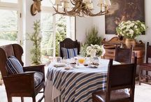 "Places for Dining / ""One cannot think well, love well, sleep well, if one has not dined well."" Virginia Woolf"