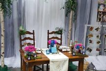 2017 Wedding Trends / 2017 Wedding Trends! As a New Year of Weddings begin it's time to look into some New & Exciting Trends. Our Wedding Sales Manager Kirsten Pechout gave us some insight on what we will be seeing in 2017!! ~ Greenery & Garland ~ Mixing Metals (Gold, Silver, Copper, & Rose Gold) ~ Naked Cakes ~ Exposed Wood & Birch  ~ Different China Patterns ~ Succulents & Fresh Herbs The Trends have Already Started... Check out the Pictures from this past weekend's weddings and our bridal show booth!