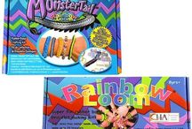 Rainbow Loom Kits / Rainbow Loom Kits For Sale - All types of Loom Rubber Band kits to make Rainbow Loom crafts.