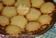 biscoito com mistura de bolo