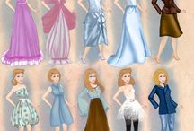 All about those dresses - Disney