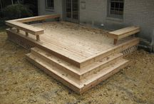 Client Project: Barton Ave Deck / Ideas for a small deck