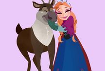 frozen animation pictures