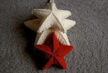 Christmas - knit & crochet ornaments